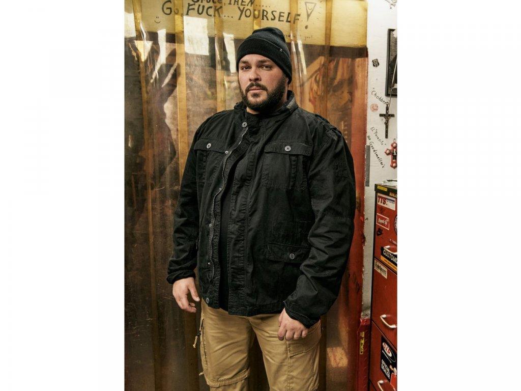 BRANDIT bunda Britannia Jacket Černá