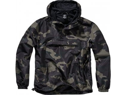 BRANDIT BUNDA Summer Windbreaker darkcamo