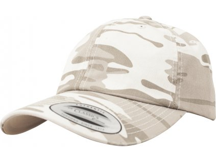 BRANDIT KŠILTOVKA Low Profile Camo Washed Cap Sandstorm