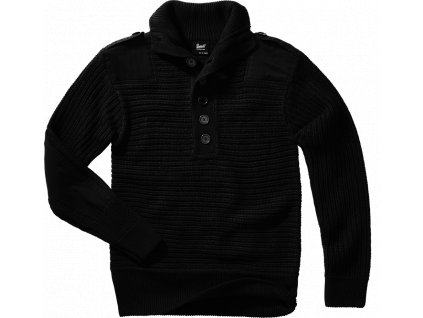 BRANDIT Svetr Alpin Pullover černá