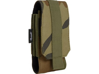 BRANDIT POUZDRO Molle Phone Pouch medium Woodland
