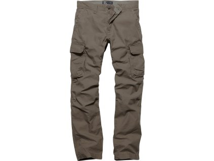 Vintage Industries KALHOTY Reef pants dark khaki