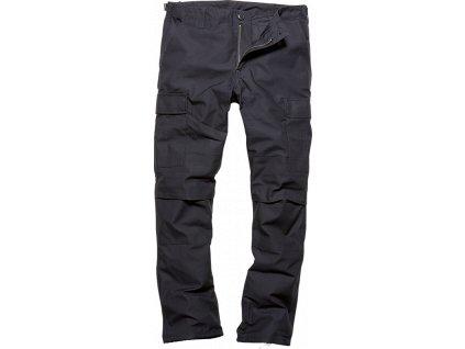 Vintage Industries KALHOTY BDU pants modré