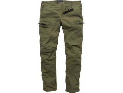 Vintage Industries KALHOTY Kenny technical pants olivové