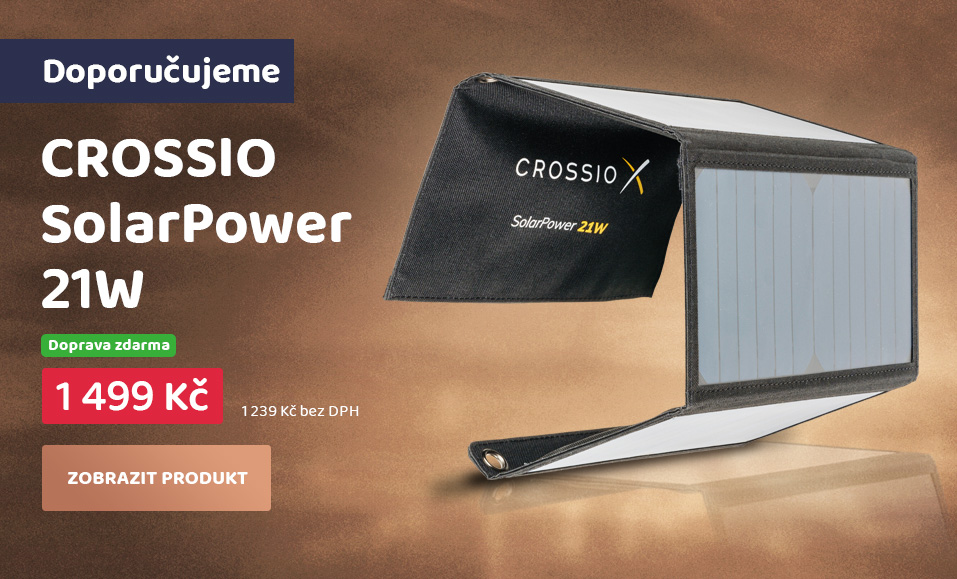 CROSSIO SolarPower 21W