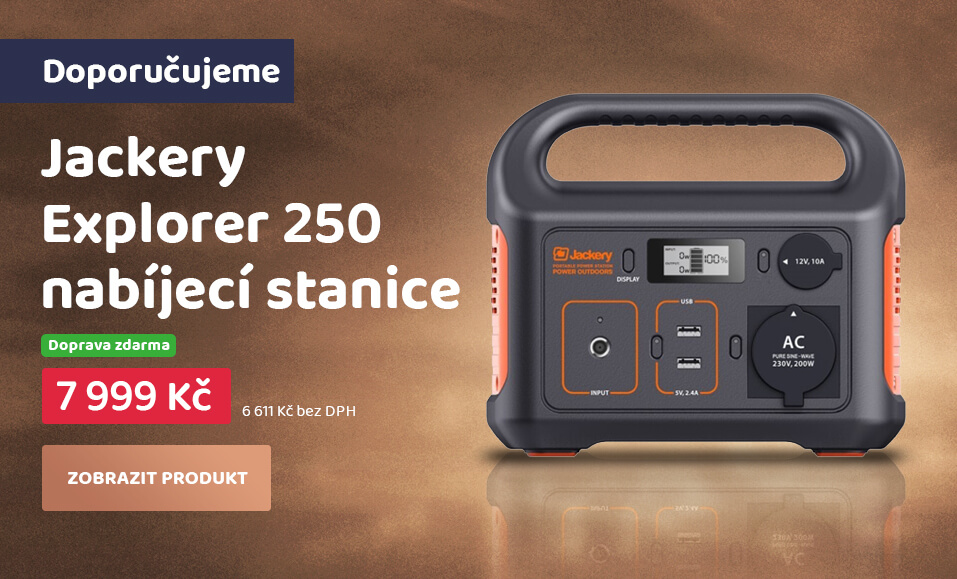 Jackery Explorer 250 Power station - nabíjecí stanice