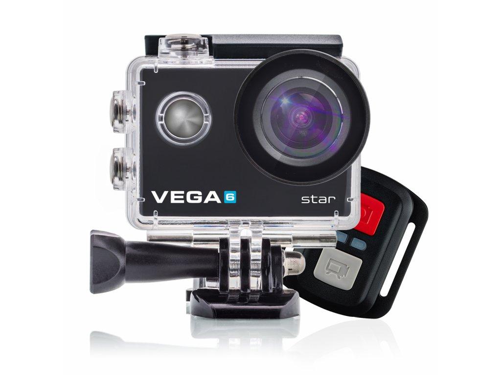 Akční kamera Niceboy® VEGA 6 star + dálkové ovládání