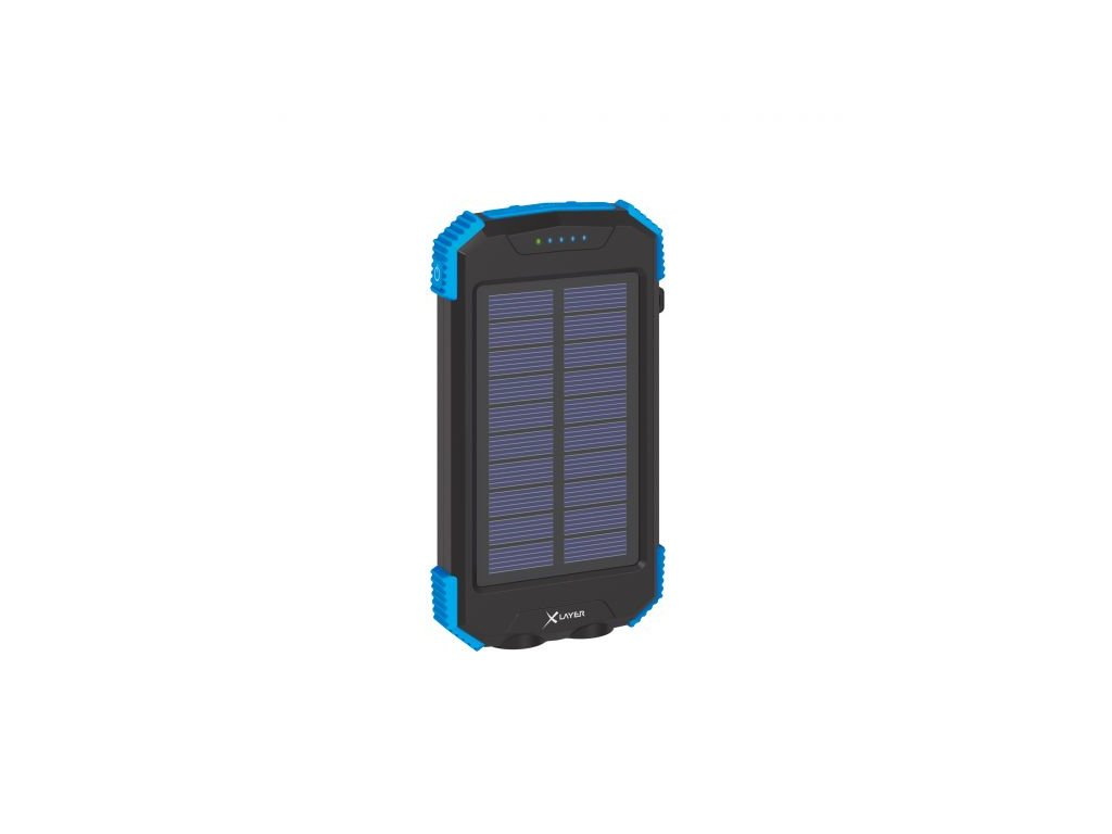 xlayer powerbanka plus solar qi wireless 10000mah cerna modra ilin.cz2