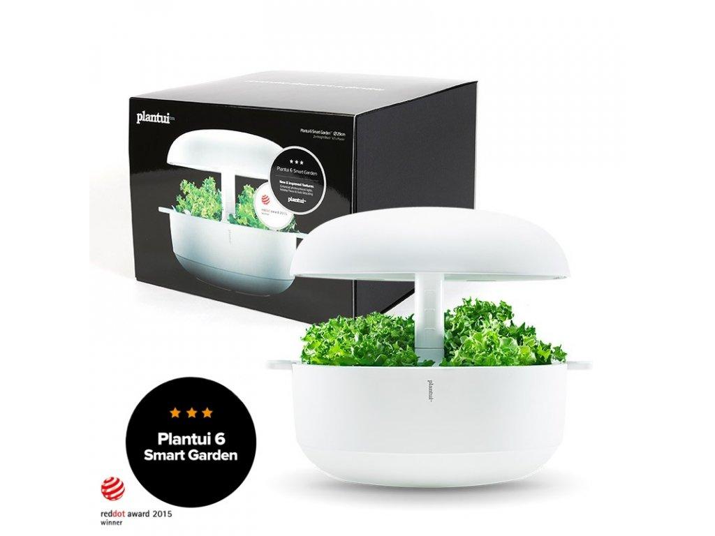 Plantui 6 Smart Garden, chytrá zahrádka, bílá