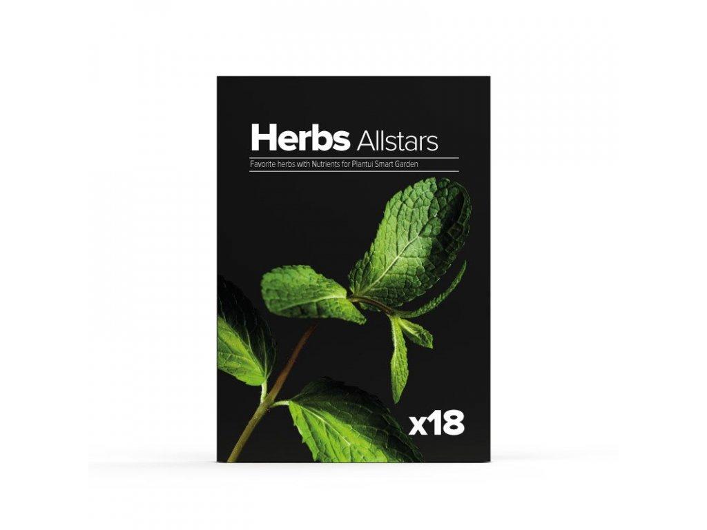 Plantui Nejlepší bylinky (Herbs Allstars), 18 kapslí
