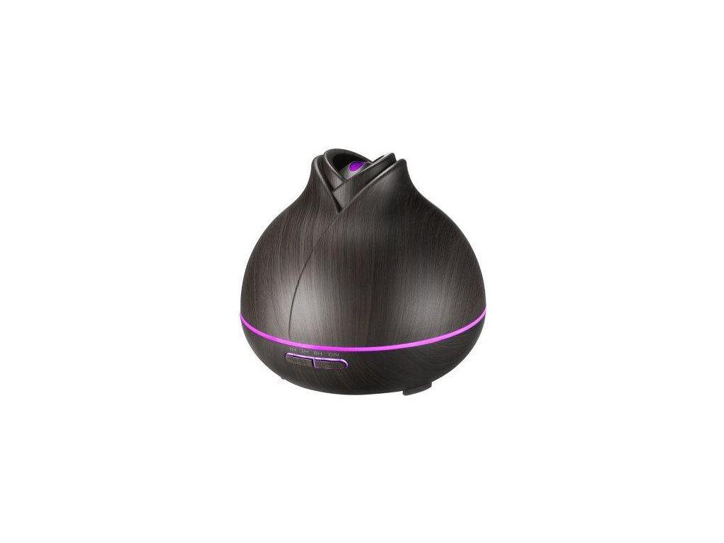 Aromacare Mantra dark, ultrazvukový aroma difuzér, tmavé dřevo, 400 ml