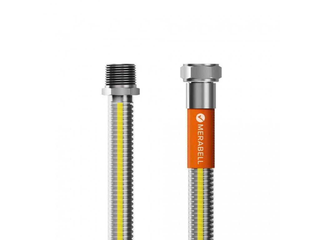 """Hadice plynová Merabell Gas Profi R1/2""""-G1/2"""", 100 cm"""