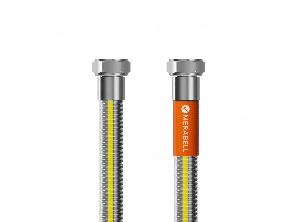 """Hadice plynová Merabell Gas Profi G1/2""""-G1/2"""", 100 cm"""
