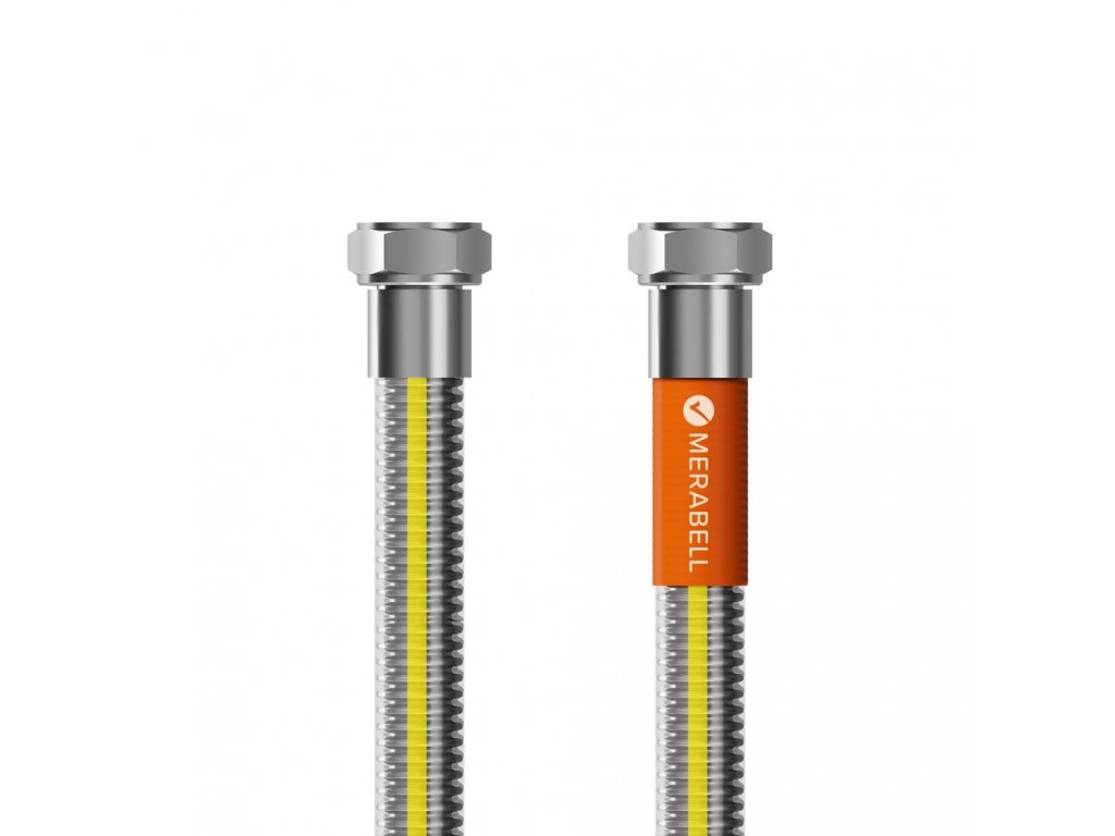 """Hadice plynová Merabell Gas Profi G1/2""""-G1/2"""", 125 cm"""