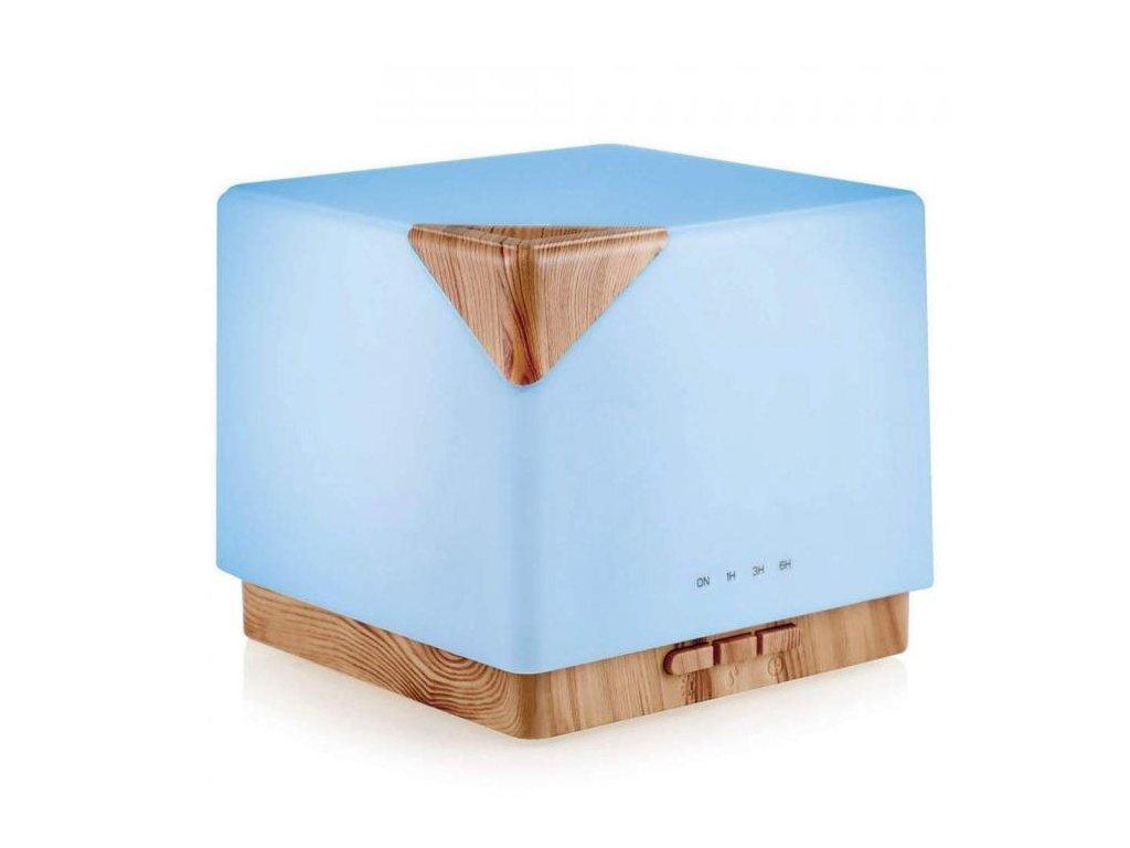 Aromacare Sagara light, ultrazvukový aroma difuzér, světlé dřevo, 550 ml