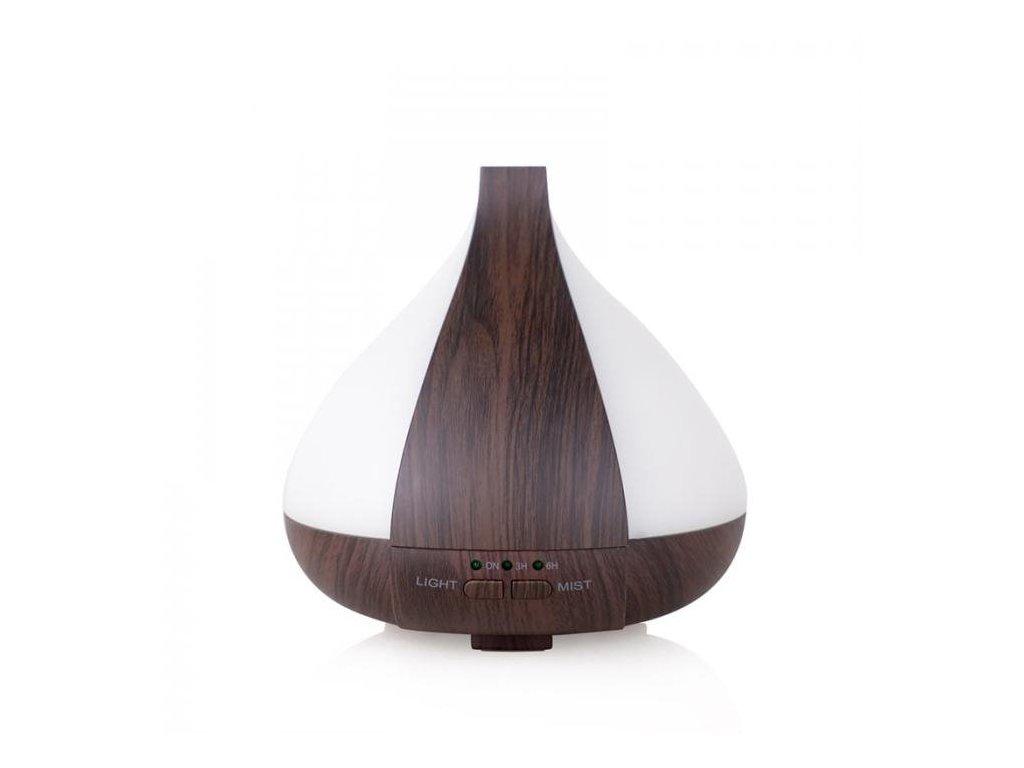Aromacare Karuna dark, ultrazvukový aroma difuzér, tmavé dřevo, 220 ml