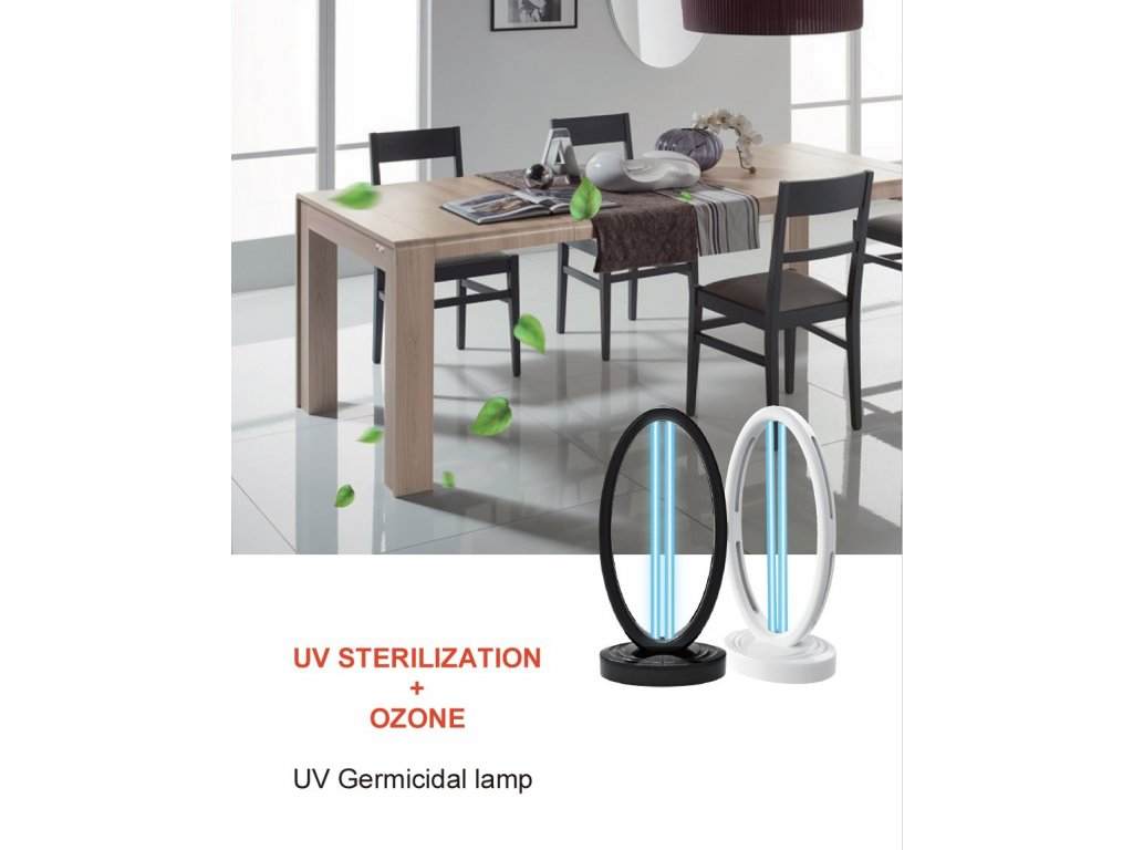 IQtech UV-C sterilizační ozónová germicidní lampa 36 W