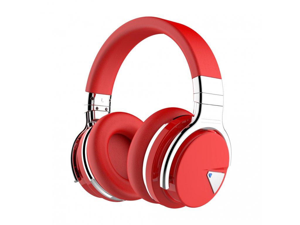 Cowin E7 ANC - bezdrátová sluchátka, červená