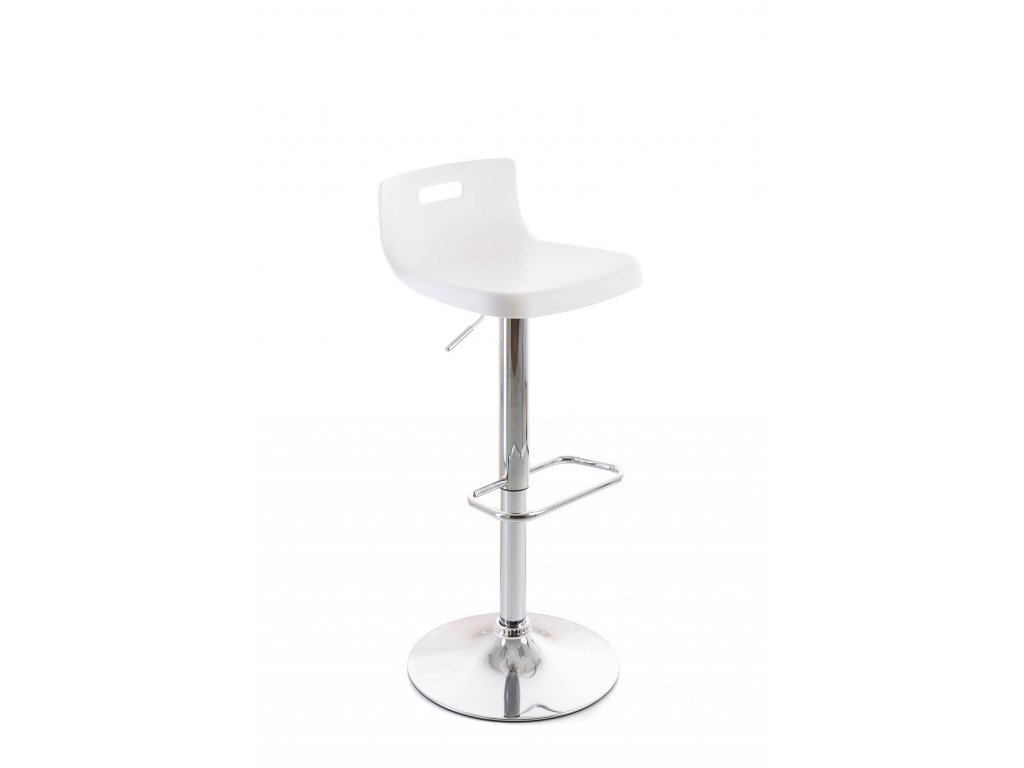 Barová židle G21 Teasa plastová white