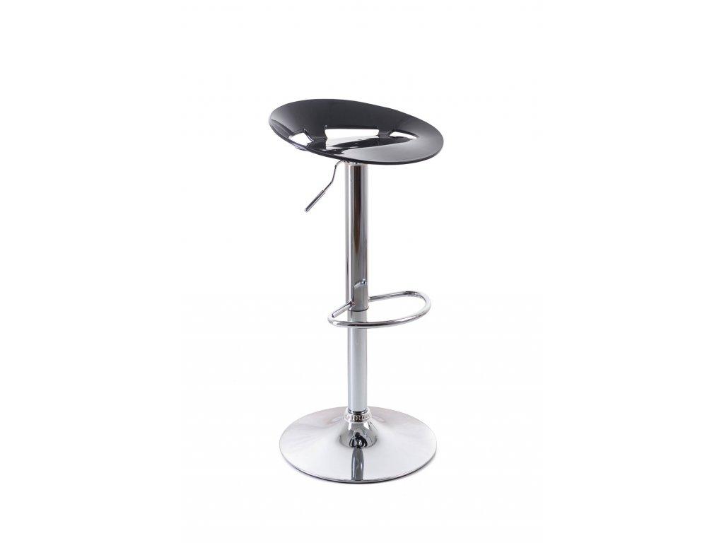 Barová židle G21 Teara plastová black