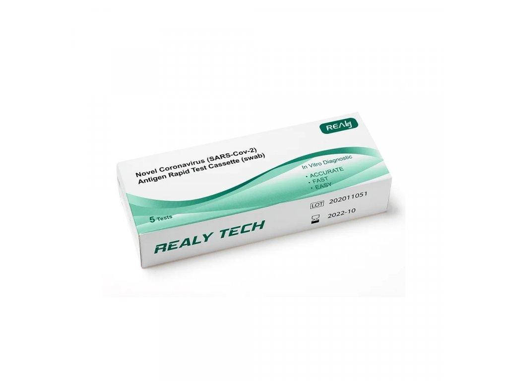 5ks antigenni test covid 19 realy tech brando