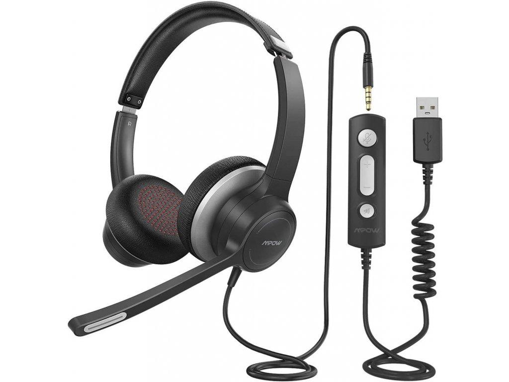 mpow hc6 business headset cerna brando 10