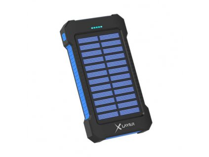 xlayer powerbank plus solar 8000mah cerna modra ilin.cz2