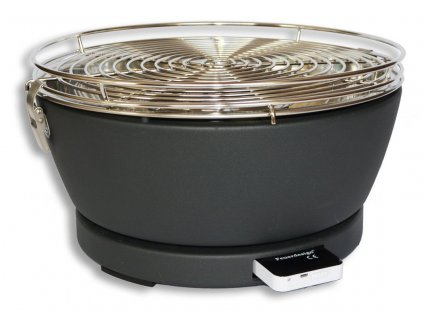 Feuerdesign stolní gril Vesuvio - antracitový