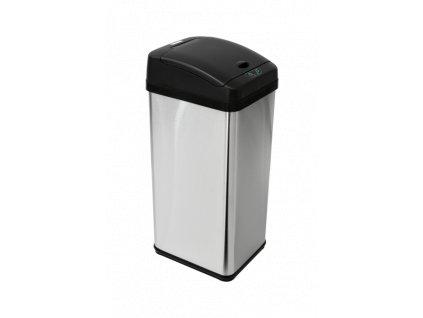 iQtech Deodorizér 48 l odpadkový koš bezdotykový, hranatý senzorový
