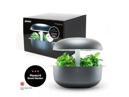 Plantui 6 Smart Garden, chytrá zahrádka, šedá