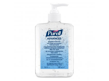 purell advanced gel pro dezinfekci rukou 500 ml s davkovacem brando