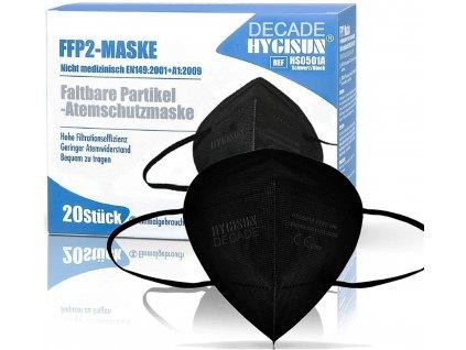 20ks respirator ffp2 hygisun cerne brando