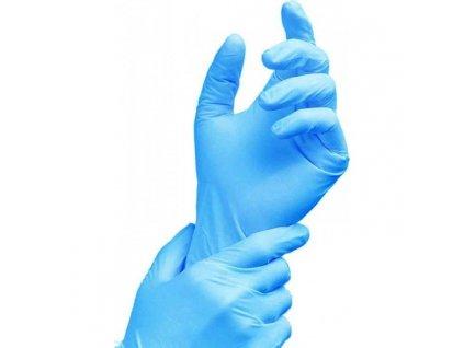 100ks nitrilove rukavice optivizyon m brando