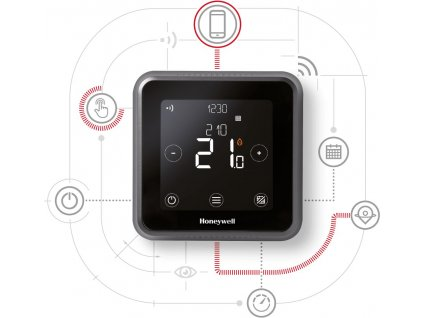 Honeywell Lyric T6R Smart Thermostat Bezdrátový Y6H910RW4055