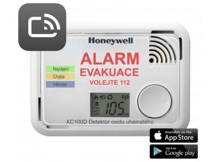Honeywell XC100D-CSSK-A, Smart detektor a hlásič oxidu uhelnatého, ScanApp