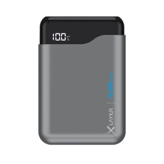 XLAYER Powerbanka Micro PRO 10000 mAh Space grey