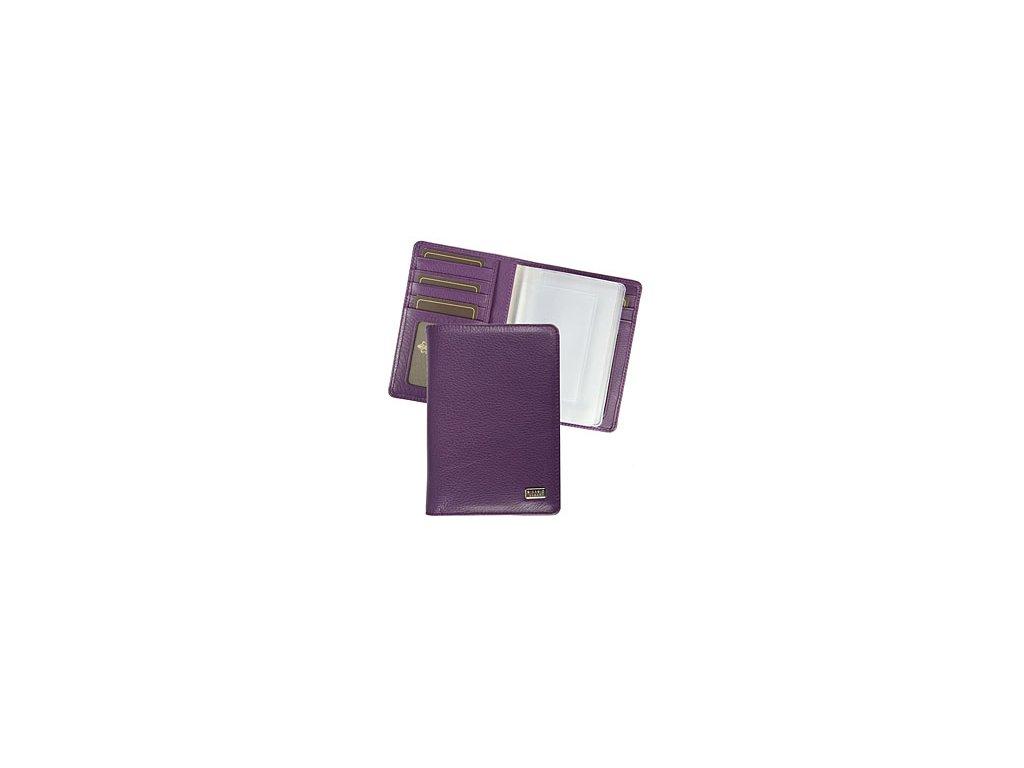 Giorgio Vasari peněženka fialová