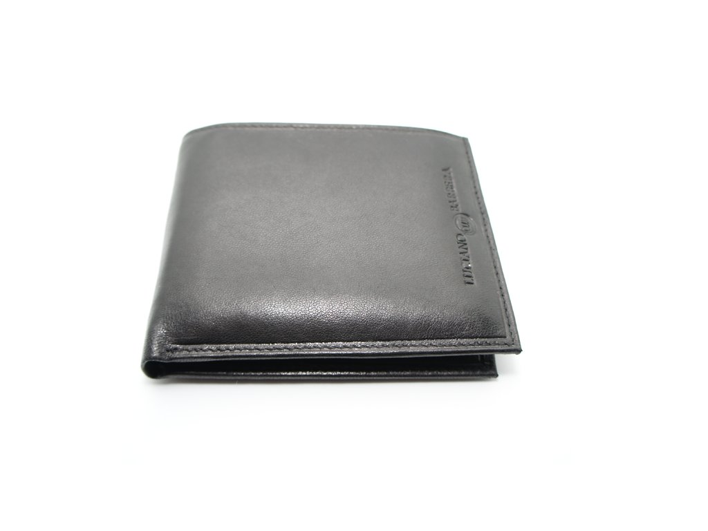 Pánská peněženka Luciano Barbera tmavě hnědá