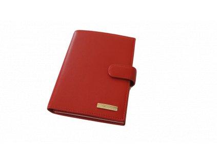 Neri Karra dámská peněženka červená