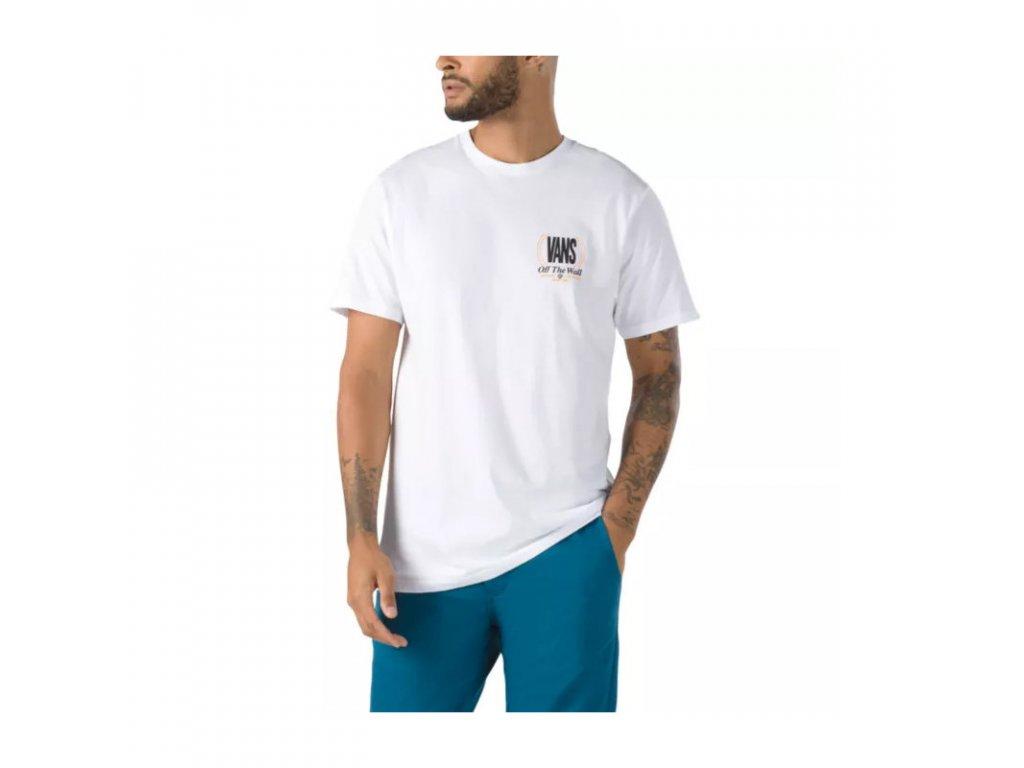 camiseta vans mn frequency ss white 939326