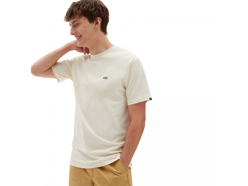 VANS MN LEFT CHEST LOGO T SEED PEARL