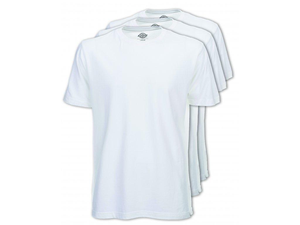 06 210091 Dickies T shirt Pack WH 3PK