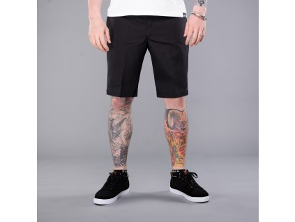 11 SLIM STRAIGHT WORK SHORT BK