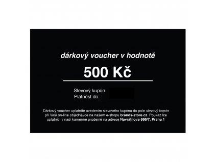 Dárkový voucher 500 Kč