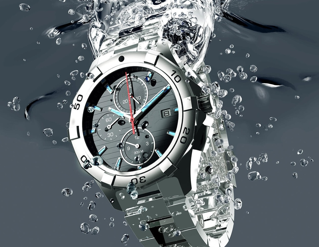 Vodotěsnost hodinek