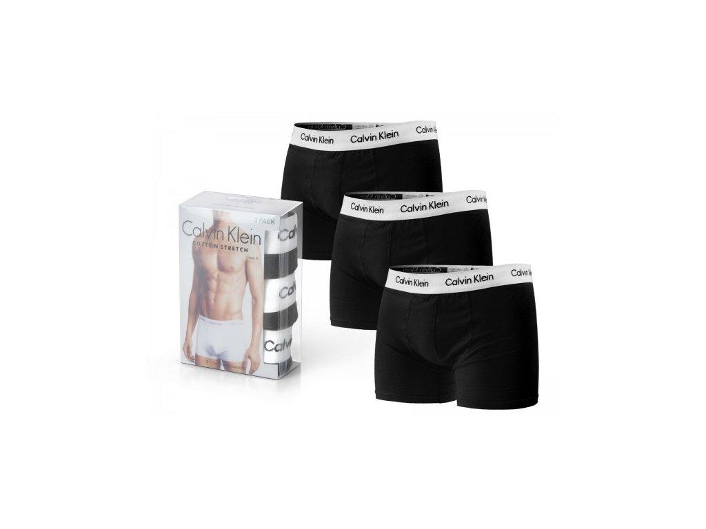Calvin Klein panske boxerky cerne bile04