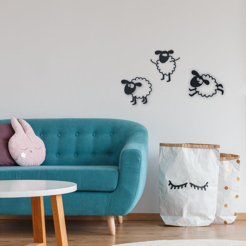 Ovečky na zeď
