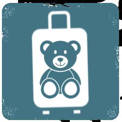 Dětské cestovní kufry