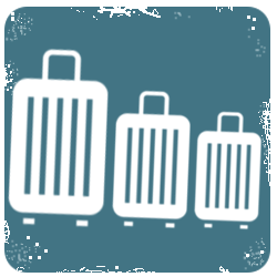 Sady cestovních kufrů
