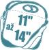 Tašky na notebooky 11 - 14''